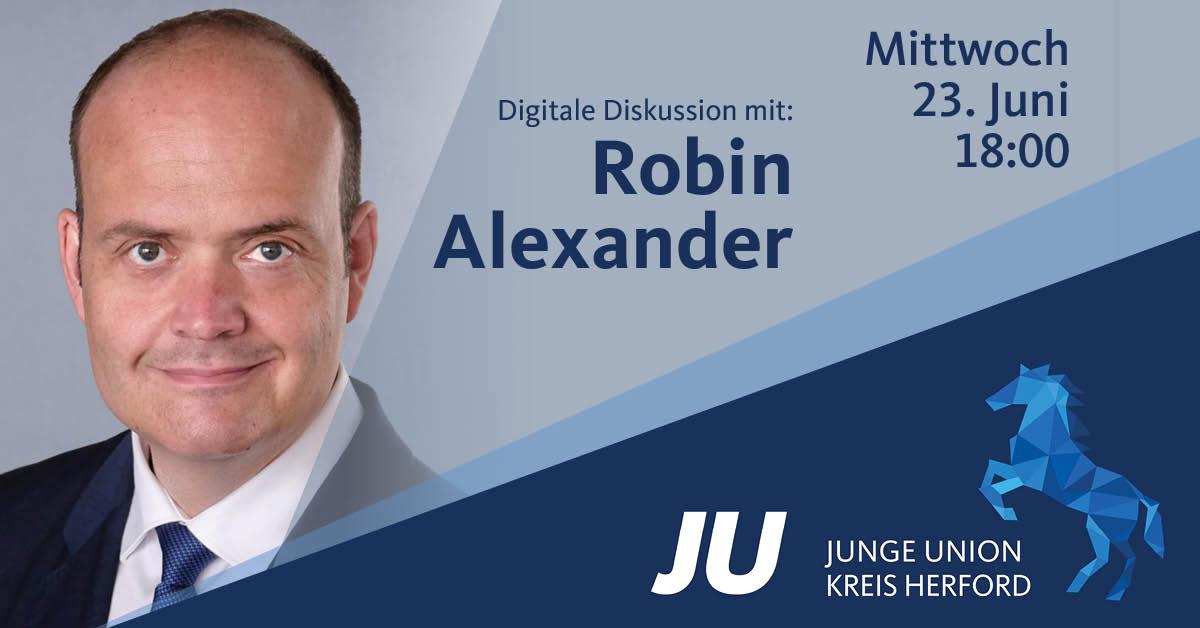 ROBIN ALEXANDER IM GESPRÄCH